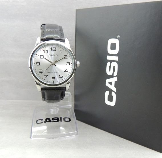 Relógio Casio Masculino - Mtp-v001l-7budf - Garantia E Nf
