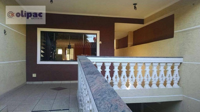 Sobrado Residencial À Venda, Parque Continental Ii, Guarulhos. - So0141