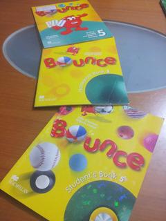 Libros Ingles Bounce Escolar Primaria 3ro 5to Y 6to Oferta