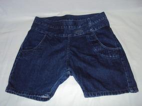Short Jeans Saruel Feminino Eden Tamanho 40