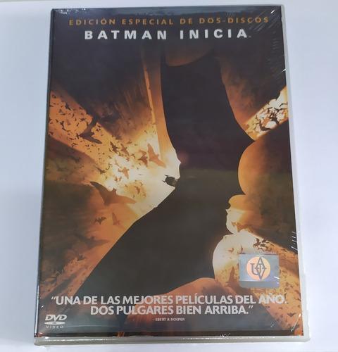 Imagen 1 de 1 de Dvd Batman Inicia 2 Discos Marvel Dc Original Nueva