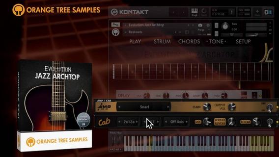 Guitarras Kontakt Orange Tree Samples Pacote Completo