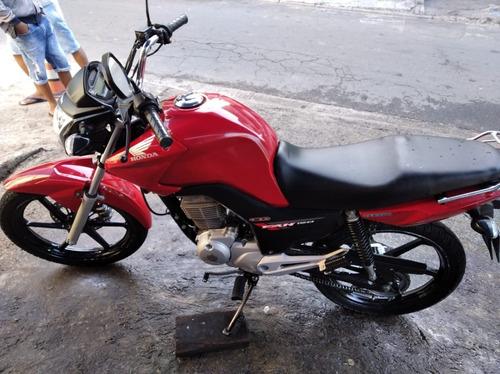 Honda Cg Fan 150 Esdi 2014 Vermelha