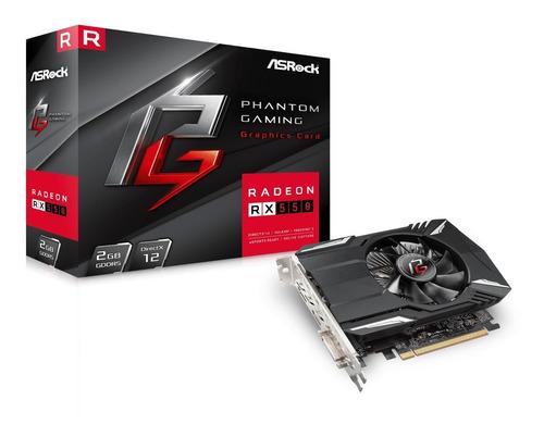 Tarjeta De Video Asrock Phantom Gaming Radeon 2gb Rx550 Ddr5