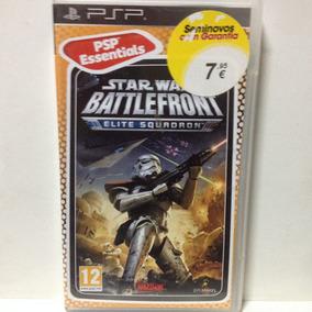 Jogo Psp - Star Wars: Battlefront: Elite Squadron