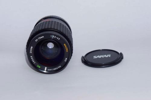 Lente Sakar Zoom 35-75mm F3.5-4.8