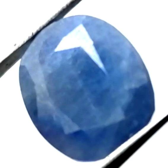 4.56ct Piedra Zafiro Azul 100% Natural Opaco De Africa
