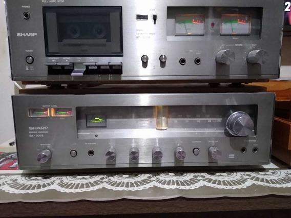 Tape Deck Sharp Rt -300bEm Bom Estado.