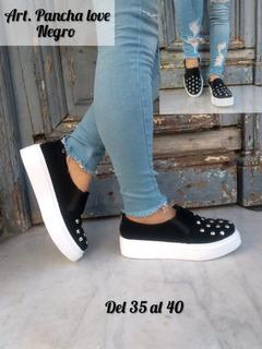 Zapatillas Gamuza Panchas Dama Mujer Tachas Nuevas Urbana