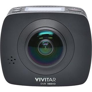 Vivitar Dvr988-blk 360 Action Camera, 4k And 1080p Hd Resol