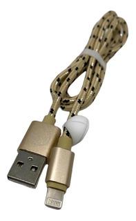 Cable Para Cargador Carga Rapida Y Datos iPhone D131 Cuotas