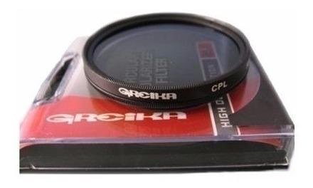 Filtro Polarizador Circular 52mm Greika Fpc 52 P Canon Nikon