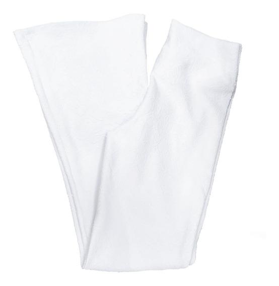 Calça Flare Em Jacquard - Super Promoção - Melhor Tecido