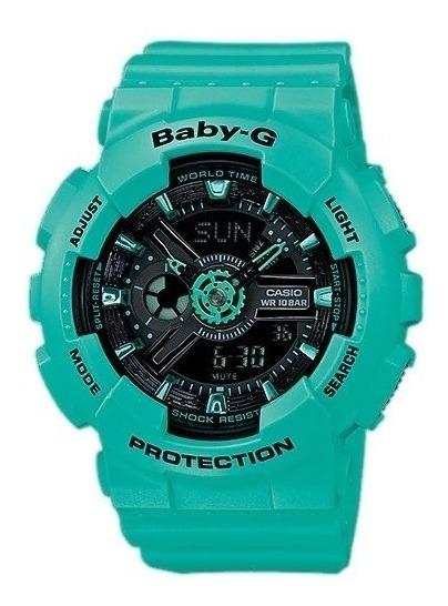 Relógio Baby-g Ba-111-3adr (verde)