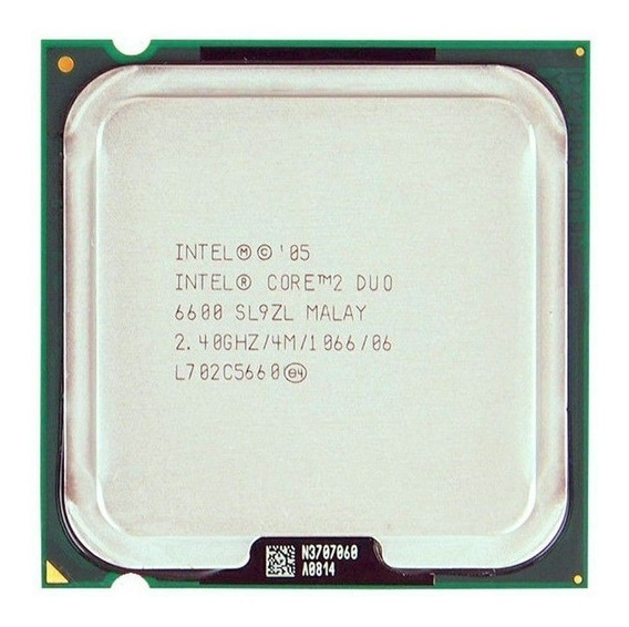 Processador Core 2 Duo E6600 4mb 2,4 Ghz Lga775 775 Barato