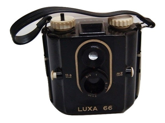 Antiga Câmera Fotográfica Alemã Luxa 66