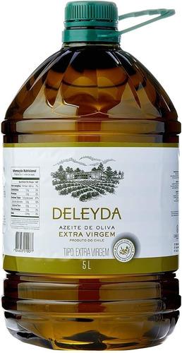 Imagem 1 de 1 de Azeite De Oliva Deleyda Classic Extra Virgem 5 Litros