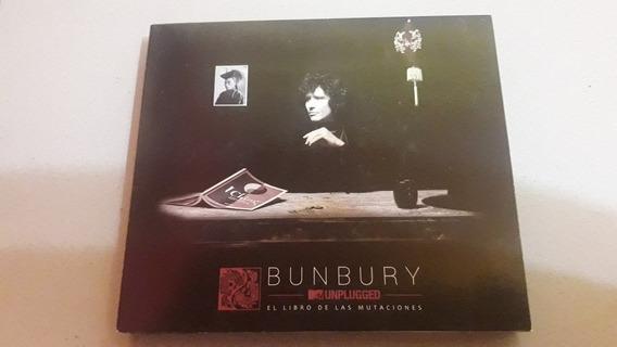 Cd+dvd Enrique Bunbury Unplugged Mtv Mutaciones Original