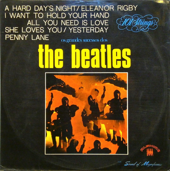 101 Strings Lp Os Grandes Sucessos Dos The Beatles 11427