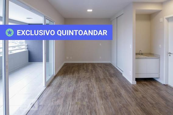 Studio No 12º Andar Com 1 Dormitório E 1 Garagem - Id: 892954225 - 254225