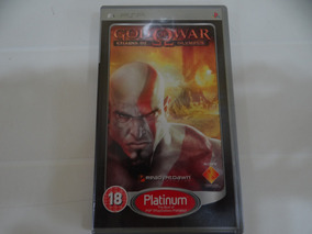 God Of War Chains Of Olympus - Psp - Completo!