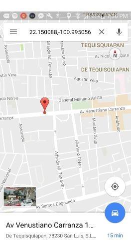 Majestuoso Terreno Para Edificio En La Avenida Principal De La Ciudad, En Av Venustiano Carranza En San Luis Potosã¬