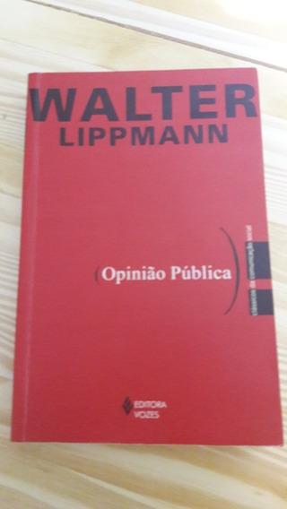 Opinião Pública Walter Lippmann