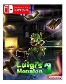 Luigis Mansion 3 Switch Mídia Física Novo Lacrado Original
