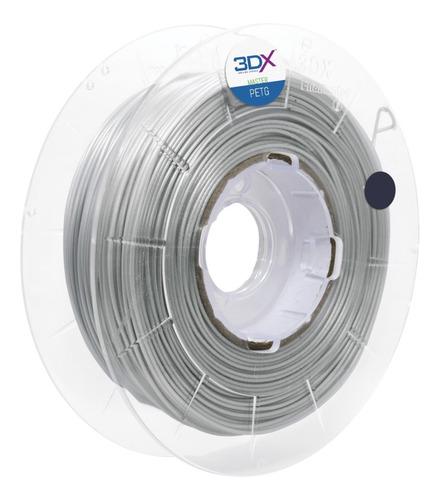 Imagem 1 de 3 de Filamento Petg 1,75 Mm | 500g | Prata