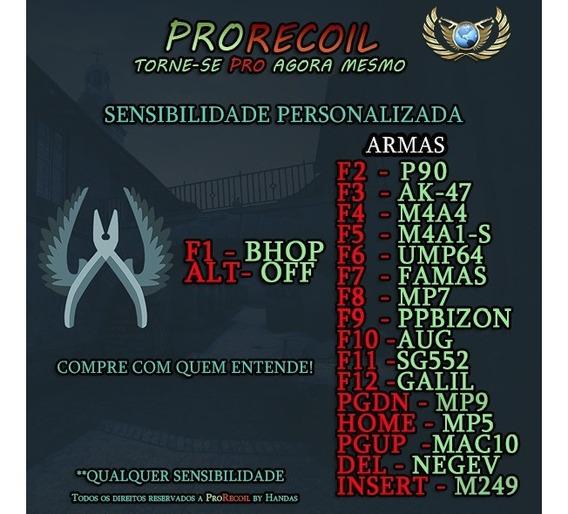 Macro Norecoil Csgo 100% Sem Vac 100% Seguro!promoção 60%off