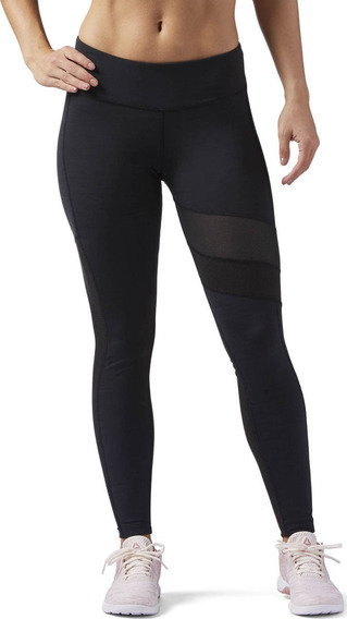Leggings Para Dama Reebok Wear Cf3174 Negro
