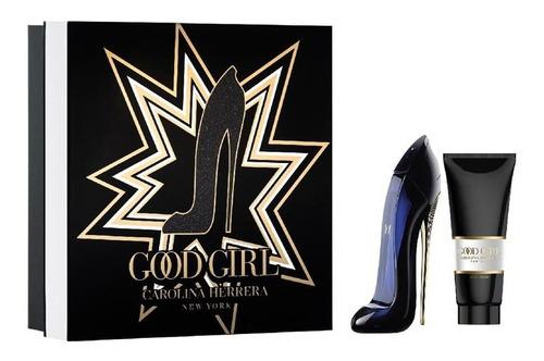 Imagen 1 de 6 de Perfume Good Girl Edp 80ml + Body Lotion 100ml O F E R T A !