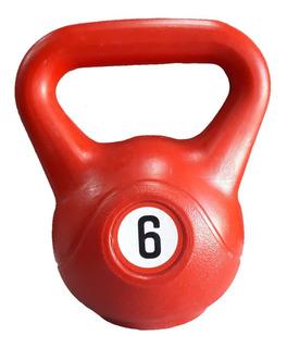 Pesa Rusa Kettlebell 6 Kg Funcional Crossfit Fitness