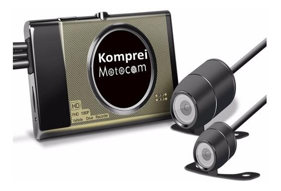 Filmadora E Câmera Gravador Para Moto - Exclusivo