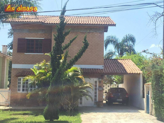 Sobrado Com 3 Dormitórios À Venda, 200 M² Por R$ 800.000 - Parque Residencial Itapeti - Mogi Das Cruzes/sp - So0122
