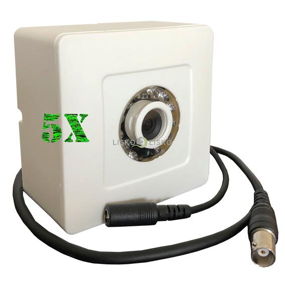 Kit C/ 05 Câmera De Segurança Ccd Ir10 700 Linhas Multitoc