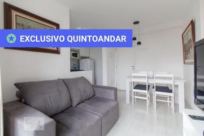 Apartamento No 1º Andar Mobiliado Com 2 Dormitórios E 1 Garagem - Id: 892933993 - 233993