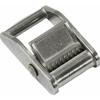 Hebilla Pala 40mm Metálica Zamac Para Cinta O Correa - Ideal Sujeción De Cargas Y Paquetes