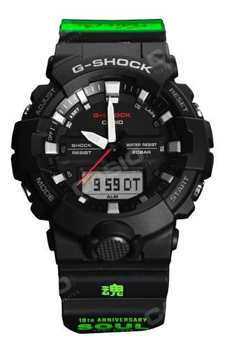 Reloj Casio Edicion Especial Soul G-shock Ga-800-1amx