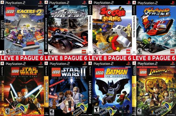 Lego Ps2 Coleção (8 Dvds) 4 Em Português Patch