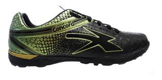Tenis Concord Futbol Rapido Negro Siete Turf Mod G011qd