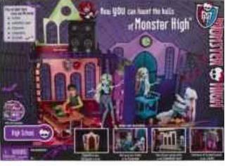 Monster High Set Escuela