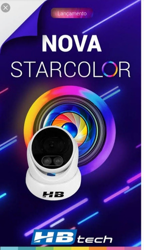 Imagem 1 de 4 de Câmeras Starcolor Full Hd 1080l