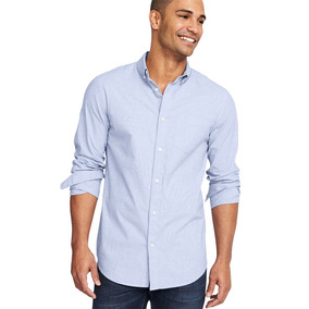 e46c41458 Camisa Hombre Casual Manga Larga Slim Fit 849523 Old Navy