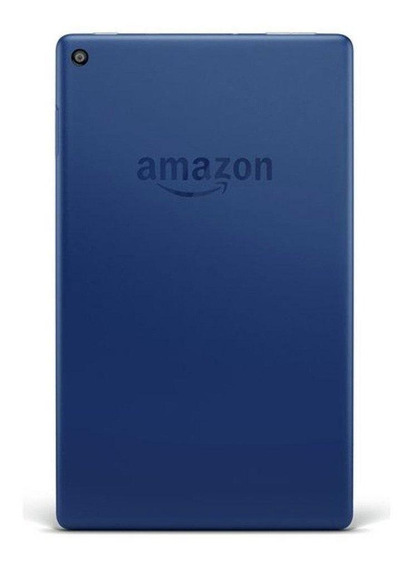 "Tablet Amazon Fire HD 8 KFKAWI 8"" 32GB marine blue com memória RAM 1.5GB"