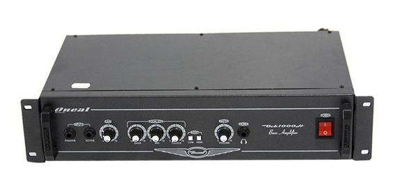 Cabeçote Oneal P/ Contrabaixo - Ocb 1000 H 350w Rms