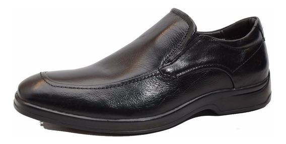 Zapato Mocasin De Cuero Democrata Hombre Dual Soft 127102