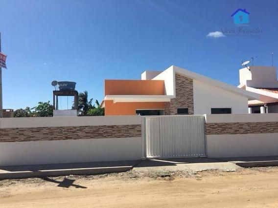 Casa 3 Quartos, Alto Luxo, Piscina E Churrasqueira, Apenas 300 Metros Da Praia Do Amor! - Ca0269
