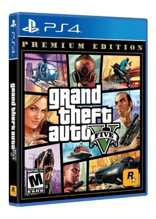 Grand Theft Auto V Premium Edition Ps4 Nuevo / Sellado