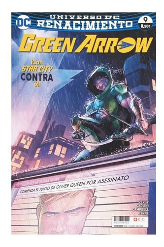 Green Arrow Vol 2 #9 - Renacimiento - Ecc Ediciones